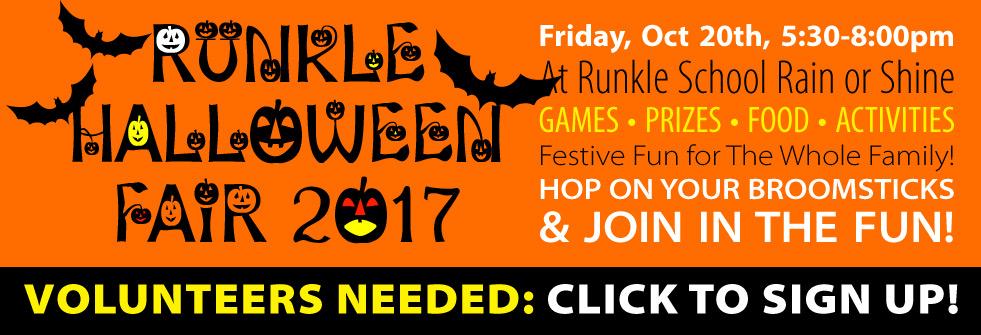 Runkle Halloween Fair